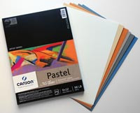 Canson Pastel Pad 9x12 24pg Coloured Sheets