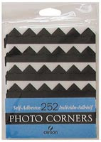 Canson Photo Corners Black