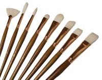Princeton Brush Bristle Fan #6