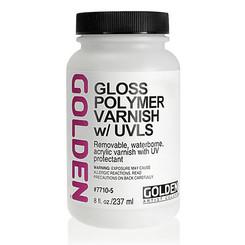 Golden Polymer Varnish UVLS 4oz Gloss