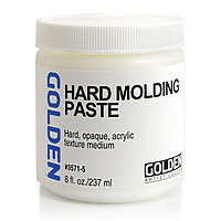 Golden 8oz Hard Molding Paste