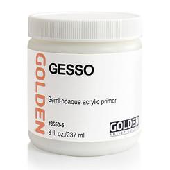 Golden White Gesso 16oz