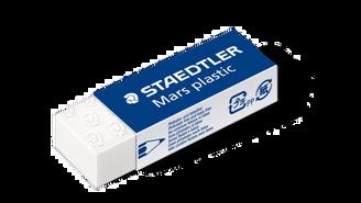Staedtler Mars Plastic Eraser White