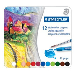 Staedtler Watercolour Crayons 12pk