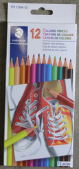 Staedtler Basic Pencil Crayons 12pk
