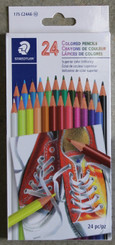 Staedtler Basic Pencil Crayons 24pk