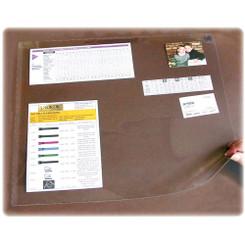 Desk Pad Clear 19x24