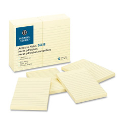 Sticky Notes 4x6 Lined pad 12pk