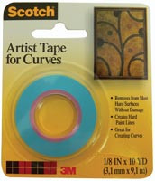 "Scotch Tape for Curves 1/8"" x 10yd"
