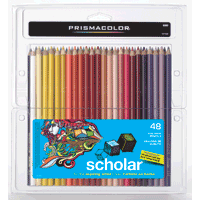 Prismacolour Scholar Pencil Crayons 48pk