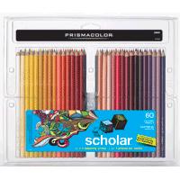 Prismacolour Scholar Pencil Crayons 60pk