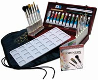 Royal Brush Set with Case & Paint Watercolour