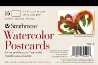 Strathmore Watercolour Postcards 15pk