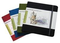 Global Handbook Jourals 6x6 Square Red