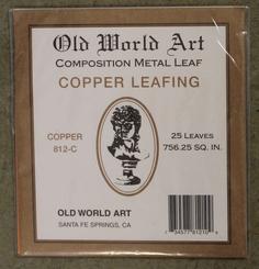 Old World Leafing Foils 25pk Copper Colour