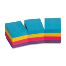 "Sticky Notes 1x2"" 12pk Extreme Colours"