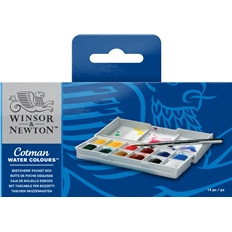 Cotman Travel Set Basic Watercolour