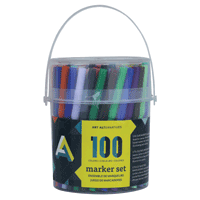AA Fine Tip Markers 100pk