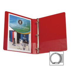 "Business Source Binder 1"" Red"
