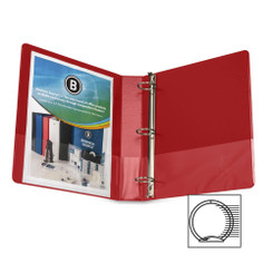 "Business Source Binder 1.5"" Red"