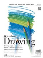 Strathmore Drawing Pad 11x14  40sheets 64lb