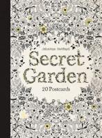 Colouring Postcards Secret Garden 20pk