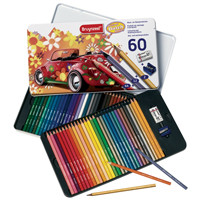 Bruynzeel Pencil Crayon Tin Set 60pc