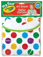 Art Smock Childrens' Rainbow Dots
