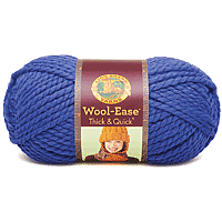 Lion Brand Wool-Ease Thick & Quick Yarn 160yards Cobalt