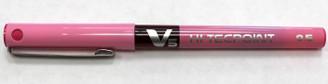 Pilot V5 Pen .5mm Pink