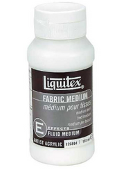 Liquitex Fabric Control Medium 4oz