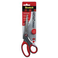"Scotch 8"" Precision Scissors (Non-Stick) Bent Handle"