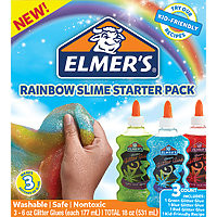 Elmer's Glitter Glue 3pk (3x6oz) Rainbow (red, green, blue)
