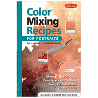 Book Colour Mixing Recipes for Portraits