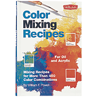 Book Colour Mixing Recipes for Oil & Acrylic
