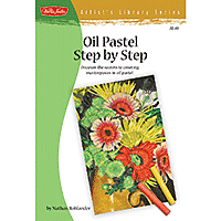 Book Artists Library Series Oil Pastel Step by Step