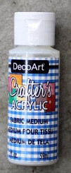 DecoArt Fabric Medium 2oz