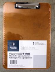 Sparco Clip Board 9x12 Neon Orange
