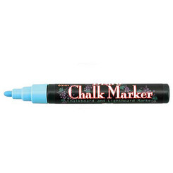 Chalk Marker Bullet Point Red
