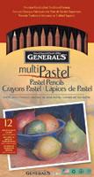 General's Pastel Pencils 12pk