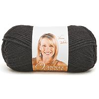 Lion Brand Vanna's Choice Yarn 170yards Black