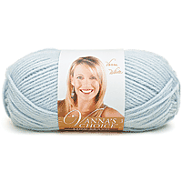 Lion Brand Vanna's Choice Yarn 170yards Silver (pale blue-grey)