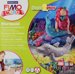 Fimo Clay Mermaid Set Oven-Bake