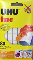 UHU Tac Adhesive Putty Regular Strength 60g (80 pc)