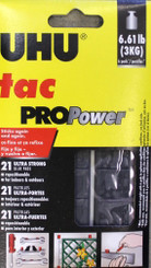UHU Tac Adhesive Putty PROpower 60g (21 pc) Holds 6.6lb