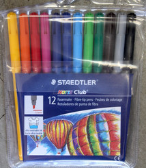 Staedtler Noris Washable 12pk Markers 1mm line