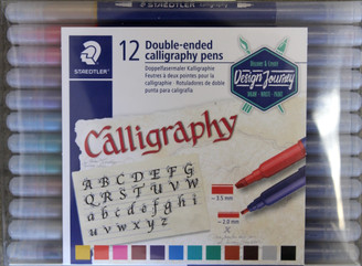 Staedtler Double Ended Calligraphy Markers