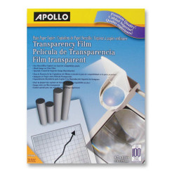 Apollo Transparency Film 8.5x11 individual sheets