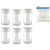 Craft Medley Craft/Bead Storage Cups 6pk