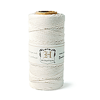 Bamboo Cord 205ft White